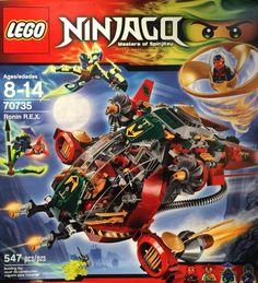 Lego Ninjago Masters of Spinjitzu Ronin Rex 70735 for sale online All Lego, Lego Dc, Lego Marvel, Lego Rubiks Cube, Ninjago Lego Sets, Summer Set, Summer 2015, Lego Movie 2, Lego Parts