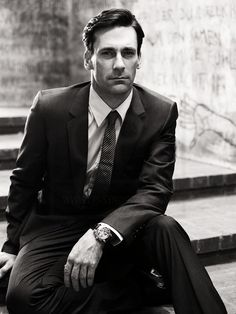 Don Draper looking suave with his beautiful watch #DonDraper #MadMen #Watch