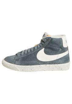 BLAZER MID VINTAGE - Sneakers alte - graublau. Vintage SneakersNike  SportswearBlazersBlazer
