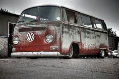 vw bay T2a vw rat bus - Buscar con Google