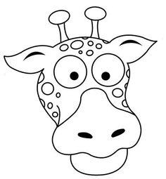 Giraffe Face Coloring Pages - Giraffe Mask Coloring Pages Giraffe Facts, Zoo Giraffe, Giraffe Head, Funny Giraffe, Preschool Art Activities, Preschool Colors, Giraffe Species, Giraffe Pictures, Sonic Dash