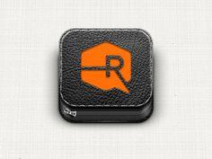 Portfolio iOS icon by Ryan Ford