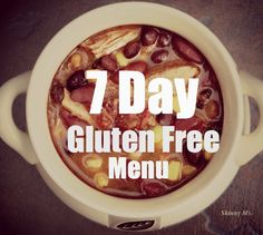 I want to try gluten free and see how i feel! We created a dinner menu that is gluten-free, healthy and yummy! Also check out emeals for meal planning! Gluten Free Meal Plan, Free Meal Plans, Gluten Free Dinner, Gluten Free Cooking, Wheat Free Recipes, Gf Recipes, Dairy Free Recipes, Water Recipes, Healthy Recipes