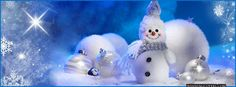 Happy Holidays frosty the snow man timeline covers for facebook and other social media