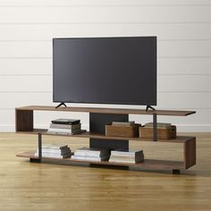 Showcase your tv and store your components in a media console or tv stand from Crate and Barrel. Shop for tv stands and media consoles online.
