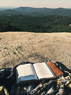 This reading spot is perfect for putting things into perspective.