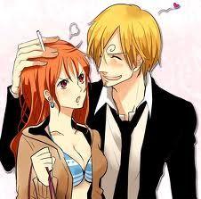 Sanji and Nami One Piece