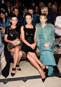 Pin for Later: Burberry Amène Londres à Los Angeles Liberty Ross, Kate Beckinsale, et Jaime King