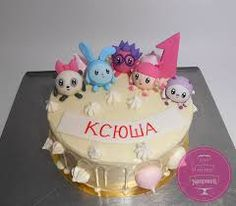Image result for малышарики торт
