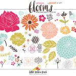 Expressive Blooms by Little Yellow Finch