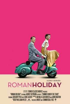 ROMAN HOLIDAY // Rom-com by William Wyler, 1953.