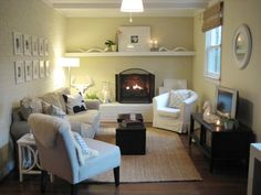 Painted Wood Paneling Glamorous With How To Paint Wood Paneling Young House Love Young House Love, Small Living, Home And Living, Living Spaces, Living Area, Living Rooms, Painting Wood Paneling, Painting Brick, Painted Panelling