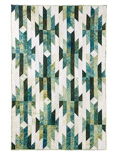 Exclusively Annie's Aztec Trails Quilt Pattern
