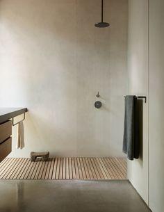 Diy Bathroom, Bathroom Layout, Bathroom Interior Design, Home Interior, Master Bathroom, Bathroom Ideas, Minimalist Bathroom Design, Natural Bathroom, Bathroom Trends