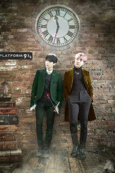 BTS- Magic School