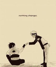 Image result for naruto and sasuke friends forever