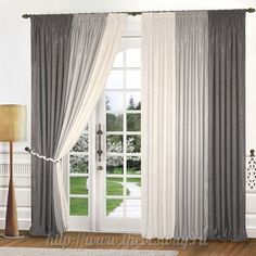 Take a look at our information site for a good deal more with regard to this mind-blowing patio door drapes Large Window Curtains, Home Curtains, Curtains Living, Modern Curtains, Living Room Windows, Window Blinds, Curtain Styles, Curtain Designs, Modern Windows