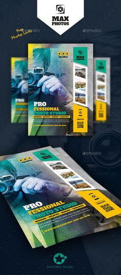Photography Flyer Template PSD, InDesign INDD