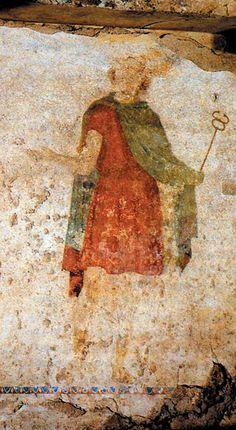 Αρχαία Μίεζα, Μακεδονικοί τάφοι των Λευκαδίων, Ο τάφος της Κρίσεως - Ancient Mieza, Macedonian tombs of Lefkadia, The Tomb of Jugdement