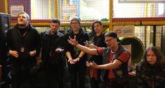 WATCH: OHHMS interviewed inside climbing frame at Hammerfest Post Metal, Rock News, Climbing, Interview, Watch, Frame, Picture Frame, Clock, Bracelet Watch