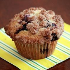 Blueberry Streusel Muffins. Have to find one today. Nice with coffee