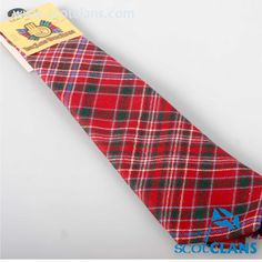 MacAlister Tartan Tie. Free worldwide shipping available