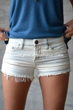 unique shorts #piaceboutique