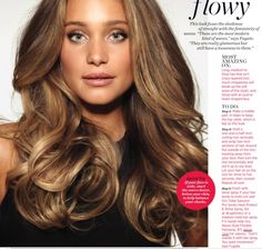 get perfect loose and glamorous waves