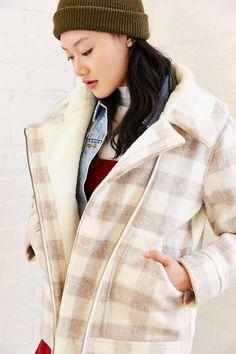 8b15252e6c25d Woolrich Mill Wool Sherpa Jacket