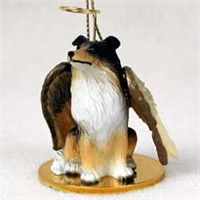 Collie Christmas Ornament Angel: Nothing beats the exceptional look and quality of our Collie… #PetProducts #PetGifts #AnimalJewelry