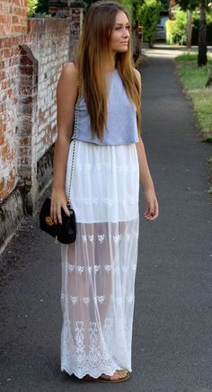 cacd6659a687 Get this Embroidered Maxi Skirt from Boohoo #trendslove Temple Dress, Maxi