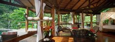 The Linda Vista Honeymoon Suite at Pacuare Lodge Costa Rica