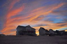 Amazing color! Must-see STUNNING #sunsets from the Outer Banks #OBX #Kitty Hawk #NorthCarolina #BeyondVoyage