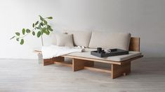 Korean designer Hyung Suk Cho's Blank sofa blends features from classic Korean design with the needs of modern houses.