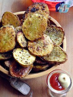 Szellem a fazékban: Sütőben sült fűszeres krumplikarikák Eat Pray Love, Fruits And Vegetables, Side Dishes, French Toast, Grilling, Stuffed Mushrooms, Tasty, Bread, Snacks