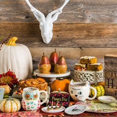 Spruce up your Halloween & Harvest table!