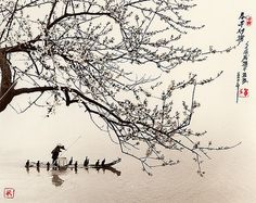 Fishing Journey by Dong Honh-Oai - incredible photographs that look like traditional chinese paintings [http://www.flickr.com/photos/lythia/sets/72157608924394296/with/3024643578/]