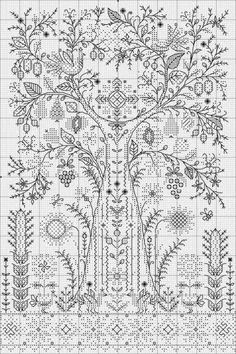Дерево життя/tree of life  Would love to know the original designer of this piece.
