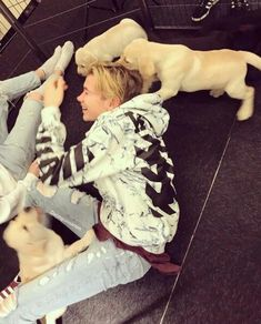 ❤Martinus with dogs❤ Dream Boyfriend, Cute Twins, Do Homework, Twin Brothers, Cool Socks, My Crush, To My Future Husband, Handsome Boys, Cute Guys