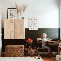 Minimalist Kids, Vintage Room, Vintage Kids, Kids Room Design, Playroom Design, Playroom Decor, Kids Furniture, Furniture Design, Bedroom Furniture