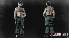Shirtless Carlos from Resident Evil 3 (remake) This model and textures are the property of Capcom Developed published by Capcom ? Carlos Resident Evil, Resident Evil Girl, Resident Evil 3 Remake, America's Army, 3d Model Character, Man Of War, Jill Valentine, Heroes Of The Storm, The Evil Within