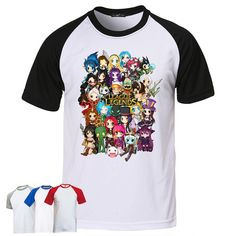 Hey, I found this really awesome Etsy listing at https://www.etsy.com/listing/210713500/league-of-legends-chibi-group-t-shirt