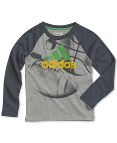 adidas Little Boys' Rocket Print Shirt