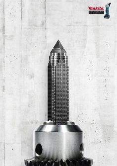 Makita Power Tools   Leo Burnett   Skyscrapers   WE LOVE AD