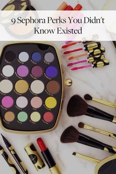 9 Sephora Perks You Didn't Know Existed via @PureWow