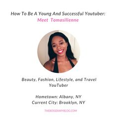 Meet Tomasilienne - she's an amazing YouTuber and we just love her! Read her interview and become inspired