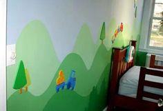Mural + siluetas