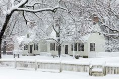 Winter snow at Colonial Williamsburg. Photo by Tom Green. Williamsburg Virginia, Colonial Williamsburg, Williamsburg Christmas, Virginia Is For Lovers, Thing 1, Colonial America, Beautiful Places, Beautiful Scenery, Winter Scenery