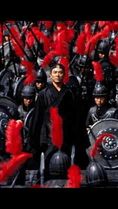 Jet Li. Love the colored moods of asian martial arts fantasy movies!