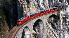Bernina-Express-Landwasser-Viaduct-and-Tunnel